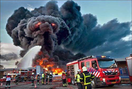 asep berbentuk wajah monster ketika kebakaran ihh seram :) #Seram