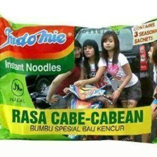 Indomie Rasa Cabe-cabean.