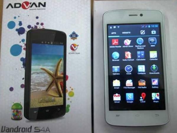 Advan Vandroid S4Asmartphone Android baru harga murah spesifikasi dual
