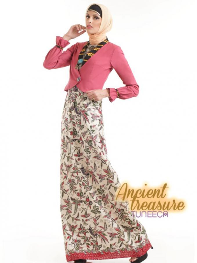 Model Baju Gamis Batik Cantik Supplier Grosir Baju