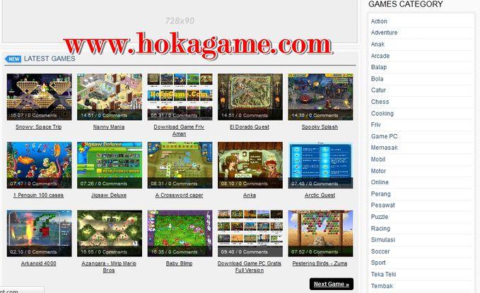 Suka dengan game gratis ? Bisa di download gratis ? Ini dia tempatnya download game gratis dengan game gratis http://www.hokagame.com/