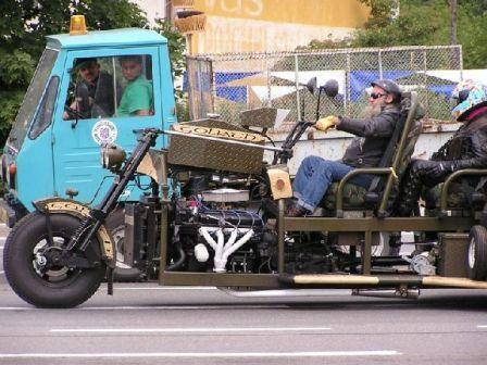 Sobat Pulsk, ini dia Harley Davidson jadi-jadian, keren tidak !