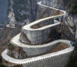 Medieval road. You cant drink and drive there...
