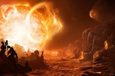 WOW Planet WASP-12b ini adalah planet terpanas yang pernah ditemukan. Suhu di permukaan bisa capai 2.200 derajat celcius. Permukaan planet WASP-12b miliki temperatur setengah dari suhu permukaan matahari. Bayangkan saja bagaimana dahsyatnya.