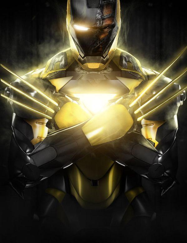 wow,Jika Superhero Lain Mempunyai Baju Iron Man Tony Stark