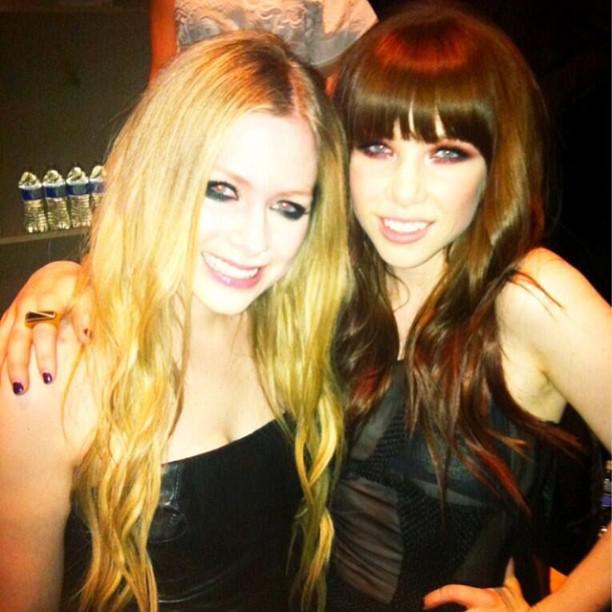 Avril Lavigne & CRJ (Carly Rae Jepsen)