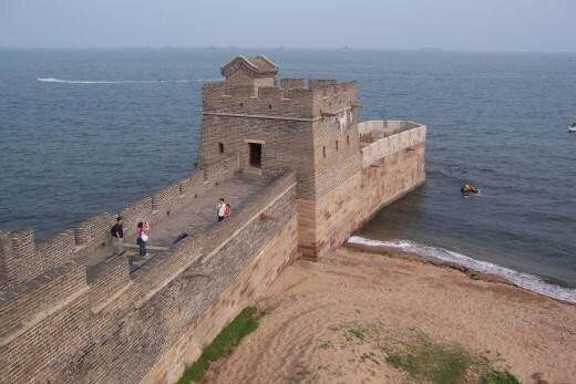 Inilah ujung dari Tembok Besar Cina