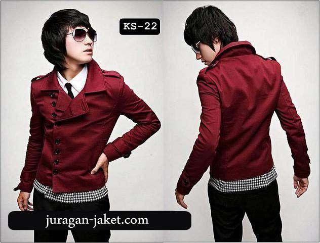 Kode : KS-22, Harga: 275.000 Mau blazer korea warna merah yang keren ini langsu saja sms ke nomor 085799091415 atau bisa BBM ke pin 21320945 Mau tau produk lainnya kunjungi website kami di http://www.juragan-jaket.com