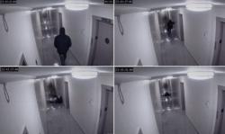 (CCTV) Terekam, Seorang Pria Tiba-tiba di Seret Oleh Makhluk Halus !!