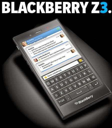 Ini dia harga Blackberry Z3 dan spesifikasinya. HP Blackberry OS 10.2 dual core ram 1,5G dengan harga murah