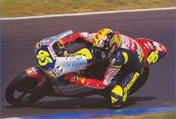 Ternyata Valentino Rossi Pernah Juara di Sirkuit Sentul 1997