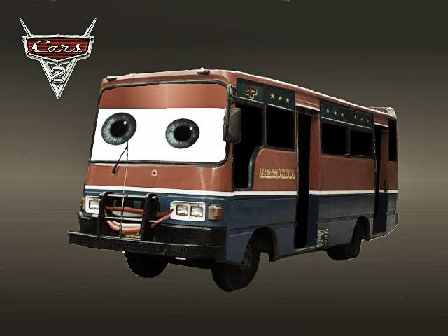 Cars Versi Metro Mini #Photoshop