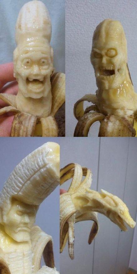 Kreasi unik dari buah pisang