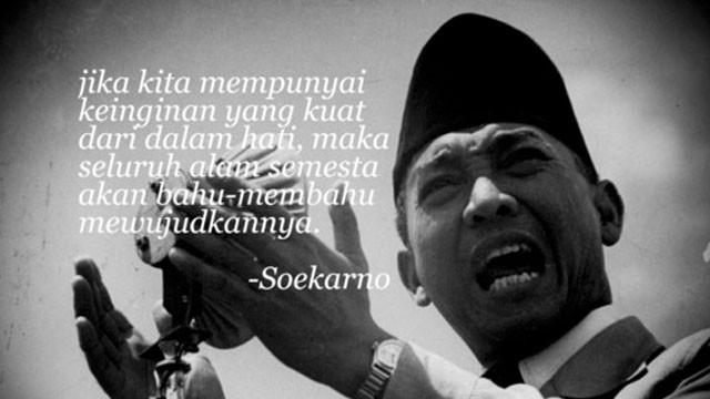 6 JUNI, 113 tahun yang lalu telah lahir seorang Proklamator yang telah membawa kemerdekaan Indonesia tercinta. Semoga di masa ini Indonesia akan mendapatkan kembali sosok pemimpin seperti beliau. Selamat Ulang Tahun Presiden Pertamaku.