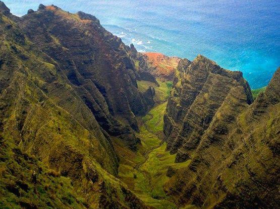 Awaawapuhi Trail Kauai , Hawaii