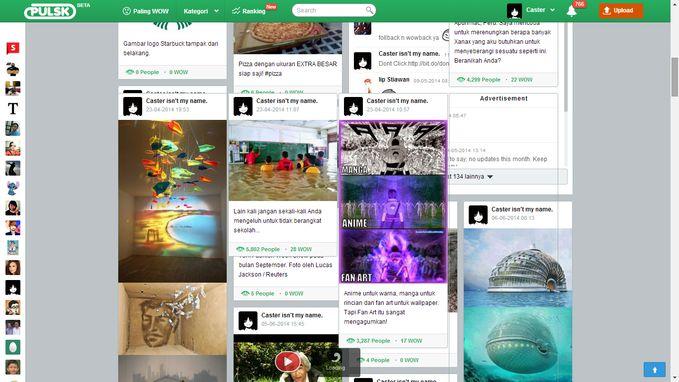 Yup, ini hal yang biasa terjadi di setiap profil. #pulsk #bug #css