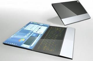 Barangkali lebih tepat disebut Paper PC karena bentuknya yang seperti lembaran kertas berupa layar sebagai antar muka dan dilengkapi pena untuk mengoperasikannya dengan cara touch screen. Didesain oleh Avery Holleman