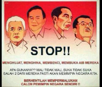 #Bersatulah Indonesiaku