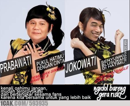 Meme Jokowi Vs Prabowo Yang Bikin Kamu Ketawa