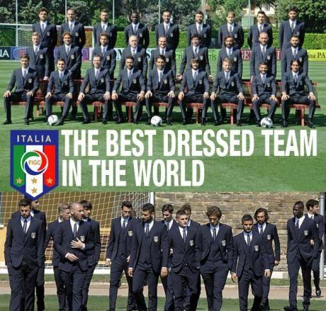 Italia tim dengan pakaian terbaik di FIFA World Cup 2014 Brazil