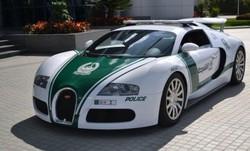 Bugatti Veyron mobil polisi di Dubai, senilai 1,6 juta US dollar