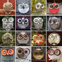 "Karya seni ""The Owl"" yang terbuat dari perabot rumah tangga.. ^^ #Awesome #Creativity"