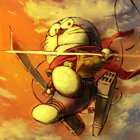 Wuuuusshh Waaah Doraemon Udah Jadi Scout Legion Wadduhh