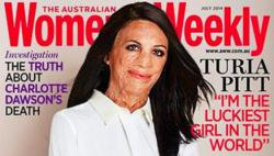 Turia Pitt, Dobrak Dominasi Perempuan Cantik di Sampul Majalah