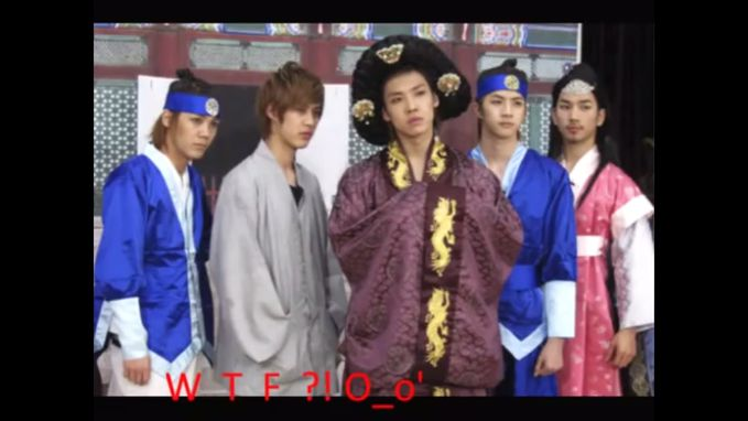 "MBLAQ ""The Great Queen Seondeok"" Parody hahaha"
