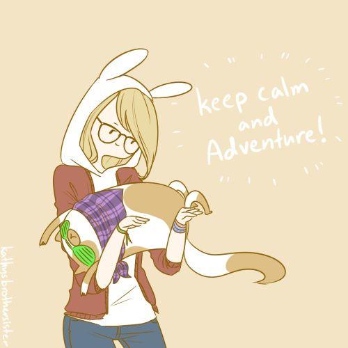 keep calm and adventure!