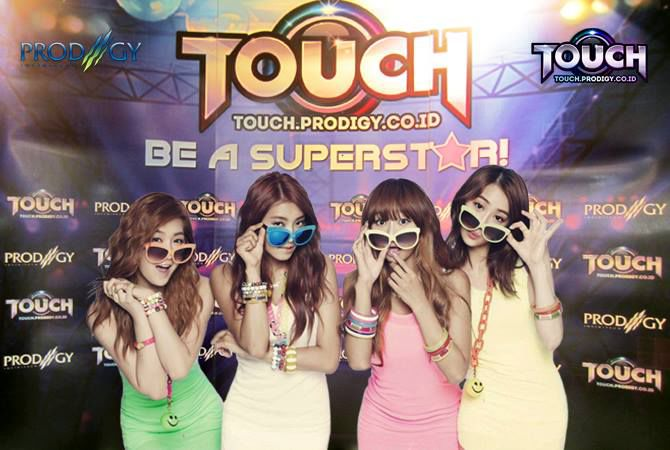 Goks! Kewl..! Gue ba..bangetttss...!!! TOUCH , game casual dance 3D pas banget buat nemenin hari-hari gue (bikin hati joget sama lagu-lagu SNSD, SISTAR, 2NE1, Suju, Krayon, Kiss dll) Langsung main di sini Pulsker >> http://touch.prodigy.co.id/