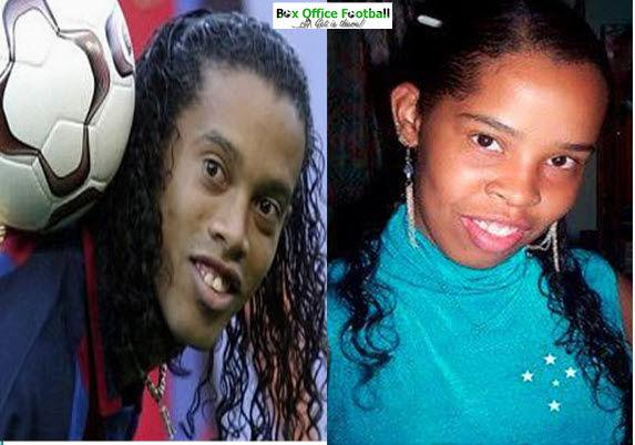 Tiba-tiba aku jadi kangen sama Ronaldinho, pemain favorit saya waktu di Barcelona.