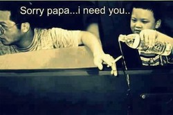 sorry daddy/.... baguuuuuss...