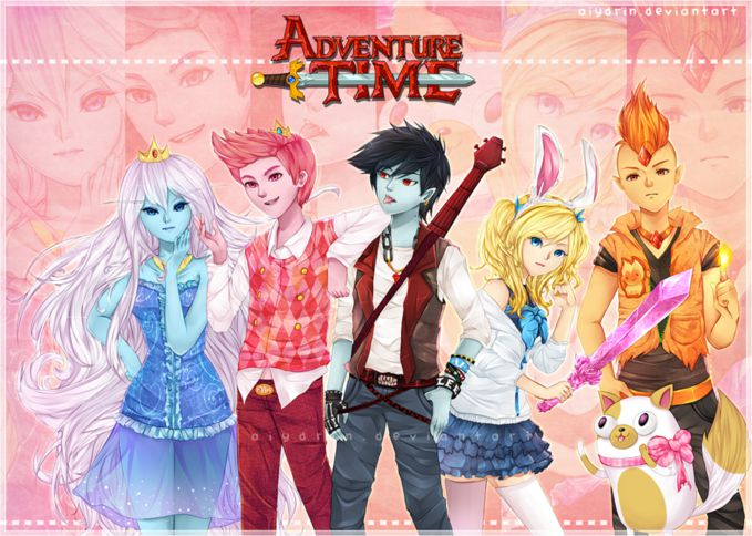 Adventure Time Anime - Land Of Aaa