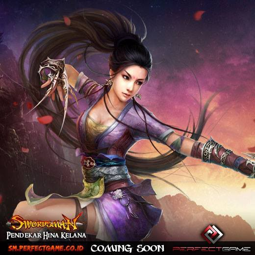 Swordsman Online Indonesia adalah Free to Play Martial Arts MMORPG yang terinspirasi dari novel dan film terkenal dari Louis Cha. Versi internationalnay sudah OBT. Segera launching di Indonesia . Info > https://www.facebook.com/SwordsmanOnline