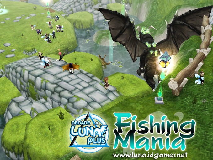Fishing mania at Decade Luna plus online. fish too mainstream :D join us : www.luna.idgamer.net