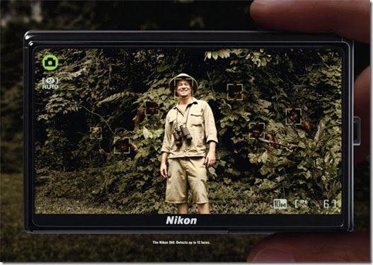 Face recognition kamera Nikon: bisa menangkap hingga 12 wajah. Iklan paling serem yang pernah gue lihat.