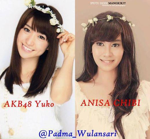 Ayo Kawan Cantikan yg mana AKB48 yuko atau Anisa Chibi? Wow Dong