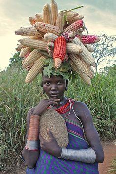 Sobat Pulsk, ini dia model rambut dari sang ratu jagung.