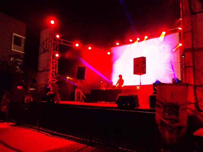DJ Melly Shu (Rmusic Records) @ Swissbel Hotel Kendari.Acara Swimming pool Rave Party.23 Agustus 2014.Fotographer by ReJason