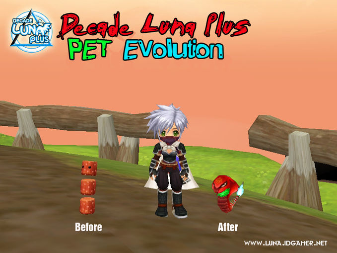 Decade Luna Plus new Pet Evolution. Find the something new in Decade luna plus :) Join now www.luna.idgamer.net