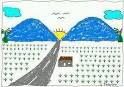 jika ada 2 gunung biru pasti di tengahnya ada matahari!!!!!!