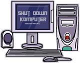 Cara paling benar mematikan komputer / pc