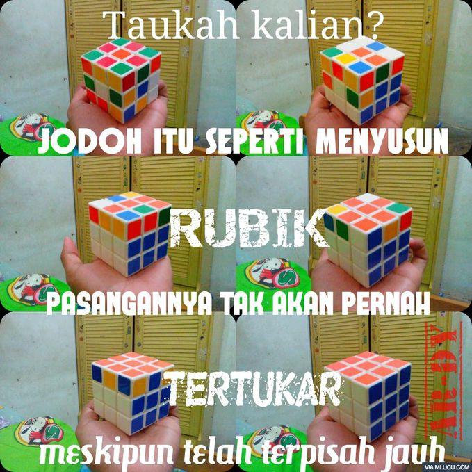 Dan Rubik, mainan kesukaanku....