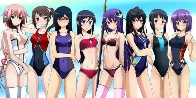 Ada yg tau nih Chara dari anime apa aja ? Kalo bisa diurutin ya dari kanan biar gak bingung