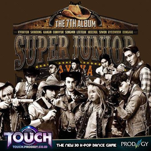 "Halo Pulsker, Super Junior telah meluncurkan video terbarunya berjudul ""Mamacita"" ? Mau main game dance #KPOP , klik saja Touch Online http://touch.prodigy.co.id/ . Temukan pasangan KPOP lovers kamu sambil dance di room Touch... share & WoW yaa"