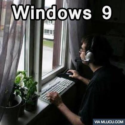 hahha windows 9