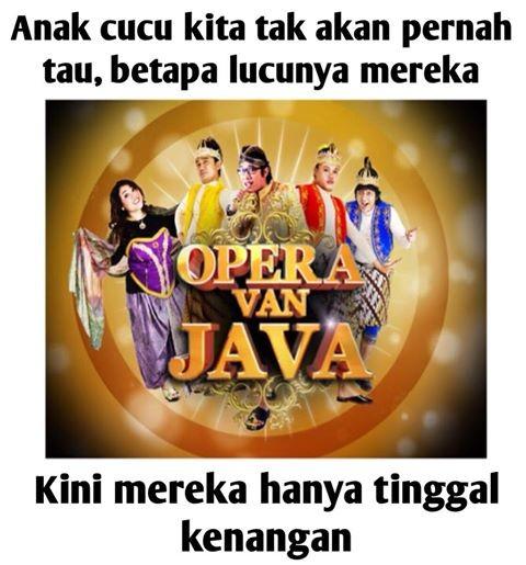 #OVJ Opera Van Java