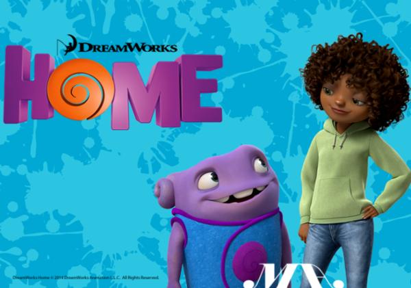 Rumah produksi DreamWorks Animation kembali merilis film animasi 3D berjudul HOME dan dibintangi oleh Rihanna, Jim Parsons, Jennifer Lopez, dan Steve Martin.