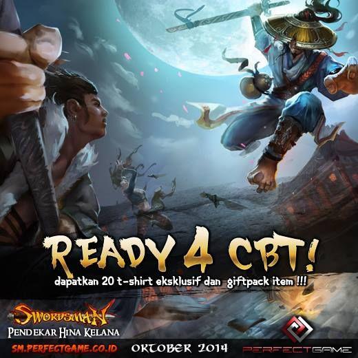 Swordsman Online Indonesia, game action Hack & Slash 3D MMORPG yang telah dinantikan pendekar - gamers di Tanah Air akan segera memulai CBT (close beta test) pada 15 Oktober 2014.Terima kasih atas dukungan Pulsker utk kehadiran Swordsman Online